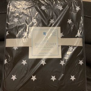 Twin size Pottery Barn duvet cover
